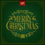 Link to2014 christmas floral frame background vector 02 free