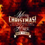 Link to2014 christmas labels background vector set 05