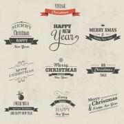 Link to2014 christmas logos creative design vector 02