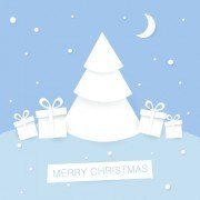 Link to2014 christmas paper cut backgrounds vector 04