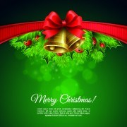 Link to2014 christmas red bow vector background 02