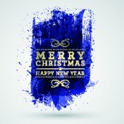Link to2014 christmas watercolor background vector 03