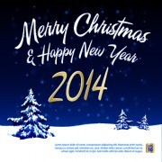 Link to2014 christmas winter vector backgrounds 02
