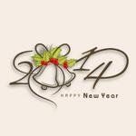 Link to2014 font design vector