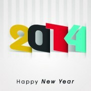 Link to2014 happy new year deisgn vector 05
