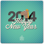 Link to2014 horse new year vector