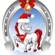 Link to2014 horses creative design vector 13