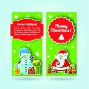 Link to2014 merry christmas vector cards 04