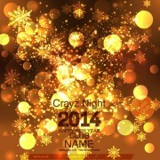 Link to2014 new year holiday halation background 02 vector