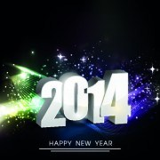 Link to2014 new year holiday vector background 04