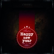 Link to2014 new year labels vector