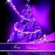 Link to2014 sparkling christmas tree backgrounds vector 03