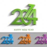 Link to2014 text creative design vectors 02