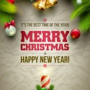 Link to2014 xmas poster backgrounds vector 01