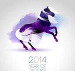 2014 year background vector