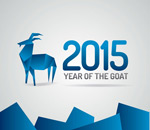 Link to2015 geometric-shaped goat vector