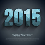Link to2015 new year vector