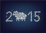 Link to2015 sheep diamond vector