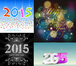 Link to2015 the number and patterns vector