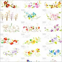 Link to25 floral pattern vector