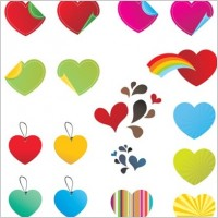 Link to25 free vector hearts