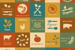 25 vintage agricultural tags design vector