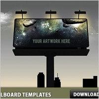 Link to3 billboard psd templates