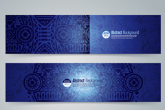 Link to3 blue banner national wind pattern vector