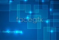 Link to3 blue tech background vector