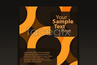 Link to3 book cover background vector
