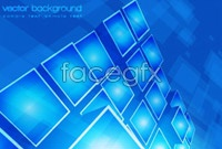 Link to3 bright block out background vector map