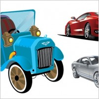 Link to3 car vector