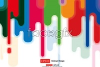 Link to3 colorful background vector map