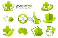 Link to3 company logo design vector