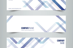Link to3 creative curve banner vector diagrams