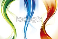 Link to3 dynamic wave background vector map