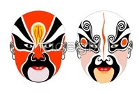 Link to3 face painting of beijing opera psd