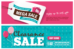 Link to3 fresh promotional banner vector
