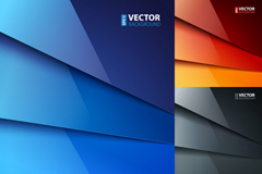 Link to3 gloss laminated paper background vector