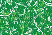 3 green background vector map