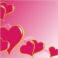 Link to3 heart-shaped vector graphics