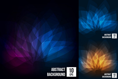 Link to3 light flower background vector