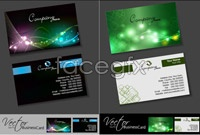 Link to3 mobile technology business card template vector