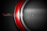 3 science and technology circle vector background