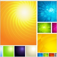 Link to3 sets of symphony of the background vector