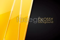 Link to3 smooth card background vector graphics