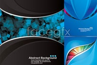 Link to3 technology theme vector