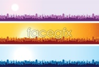 Link to3 urban sketch background vector map