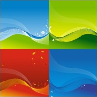 Link to3 vector colorful backgrounds