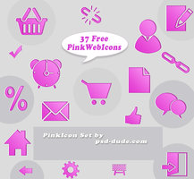 Link to37 pink web icons